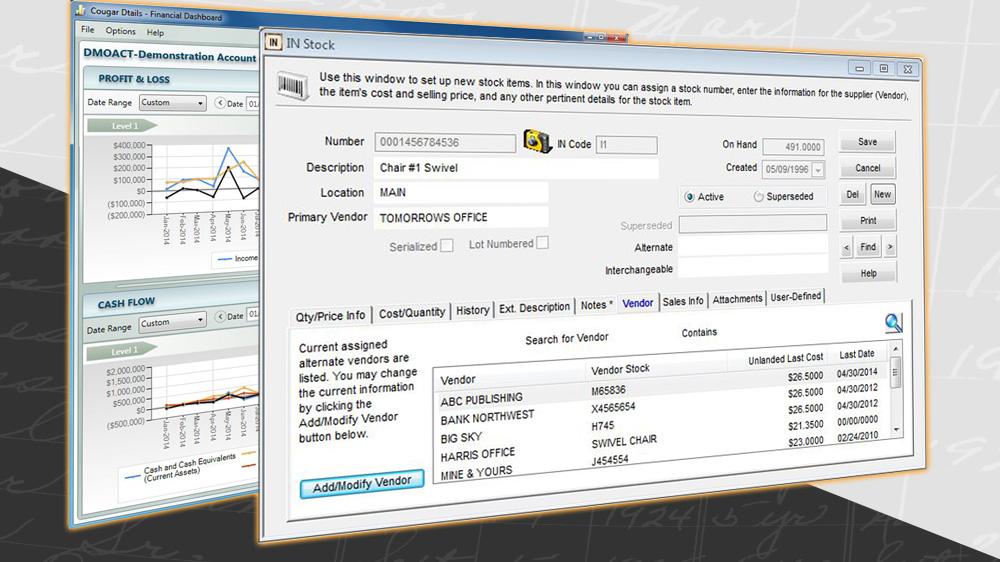 Denali business screenshots