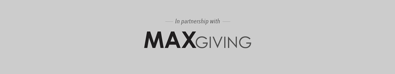 MaxGiving Partnership banner